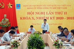 Đảng bộ PV GAS tổ chức thành công Hội nghị Ban Chấp hành lần thứ II mở rộng, Khóa X