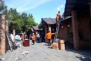 Tiếp tục cưỡng chế công trình vi phạm tại 'tổ hợp ăn chơi' vùng ven Sài Gòn