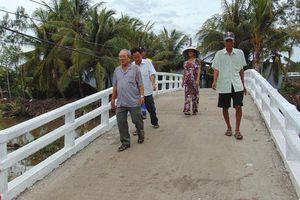 Cầu An Hòa 10 nối những bờ vui
