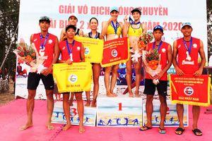 Giải vô địch bóng chuyền bãi biển 2x2 toàn quốc: Sanest-Sanna Khánh Hòa giành cú đúp vô địch