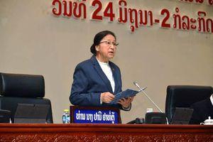 Khai mạc Kỳ họp thứ chín, Quốc hội khóa VIII nước CHDCND Lào