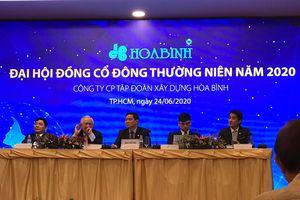 Chủ tịch Lê Viết Hải bác tin đồn Hòa Bình bị thâu tóm, nhận trách nhiệm không đạt kế hoạch năm 2019