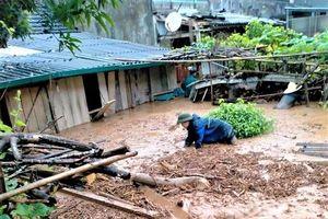 Hà Giang: 42 nhà dân bị sạt lở, ngập úng