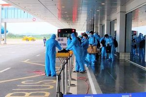 Chuyến bay chở 150 chuyên gia từ Nhật Bản hạ cánh tại Vân Đồn