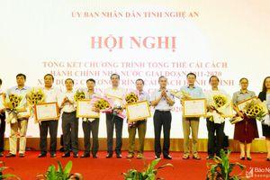 Nghệ An khen thưởng các tập thể, cá nhân có thành tích trong công tác cải cách hành chính