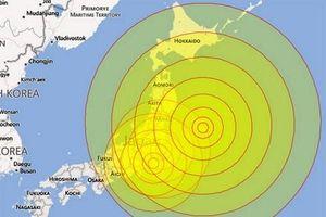 Động đất mạnh tại Nhật Bản, New Zealand và Mỹ