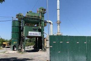 Nghệ An: Trạm trộn bê tông nhựa nóng Asphalt không phép là của ai?