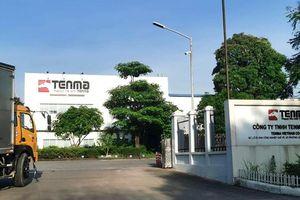 Lãnh đạo Bộ Công an nói về nghi án nhận hối lộ của Cty Tenma Nhật Bản