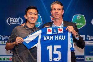 'Hà Nội FC và Heerenveen có thể đã bí mật bàn tương lai Văn Hậu'