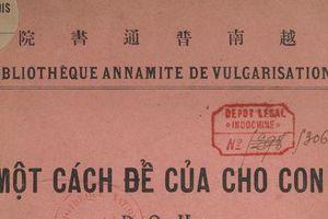 Giáo sư Dương Quảng Hàm bàn về cách 'để của cho con'