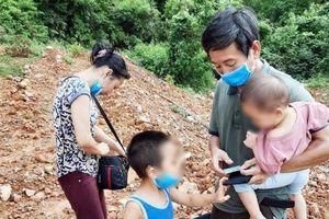 Lội sông vượt biên giới, một gia đình ở Thái Bình xin đi cách ly tập trung