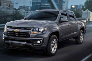 Cận cảnh ngoại thất Chevrolet Colorado 2021 sắp ra mắt