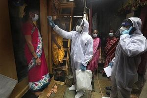 Ấn Độ đưa vào hoạt động bệnh viện dã chiến lớn nhất thế giới vì dịch Covid-19