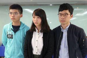 Hoàng Chi Phong và 2 đồng minh rời đảng Demosisto
