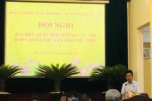 Cử tri huyện Thanh Trì kiến nghị xem xét chính sách hỗ trợ gạo cho người dân