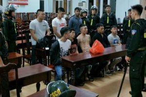 Khởi tố, bắt tạm giam 12 đối tượng liên quan đến vụ hỗn chiến
