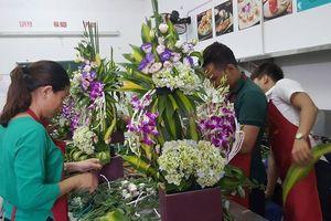 Quảng Trị: Đào tạo nghề cắm hoa nghệ thuật cho lao động nông thôn