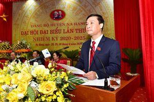 Đại hội đại biểu Đảng bộ huyện Na Hang lần thứ XXII, nhiệm kỳ 2020-2025