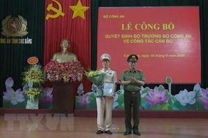 Bộ Công an bổ nhiệm tân Giám đốc Công an Cao Bằng