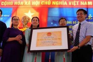 Châu Hương Viên đón nhận bằng xếp hạng di tích lưu niệm