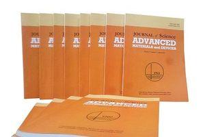 Tạp chí khoa học Việt đầu tiên vào danh mục quốc tế có chỉ số ảnh hưởng cao
