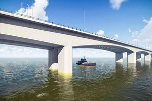 Lộ diện ảnh thiết kế cầu Vĩnh Tuy 2 với 8 làn xe vượt sông Hồng