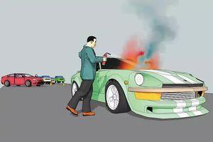 Làm thế nào để cứu người thoát khỏi xe đang cháy?