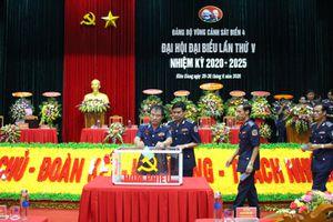 Đại hội đại biểu Đảng bộ Vùng Cảnh sát biển 4