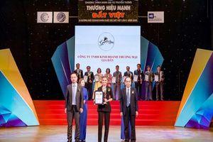 Công ty TNHH KD TM Gia Hân vinh dự nhận top 10 thương hiệu mạnh Đất Việt 2020