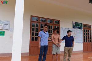 Đã bắt được nghi phạm giết người bỏ trốn ở Sơn La