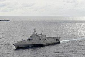 Tàu chiến Mỹ theo sát tàu khảo sát địa chất Trung Quốc ở biển Đông