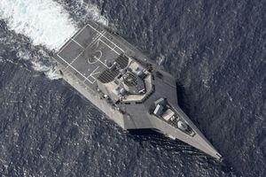 Tàu chiến Mỹ diễn tập với tàu Nhật Bản ở Biển Đông