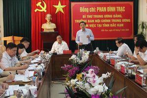 Ông Phan Đình Trạc: Phải thẩm tra, xác minh nhân sự cấp ủy cho tốt