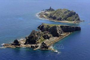 Nhật Bản phản đối việc các tàu hải cảnh Trung Quốc xâm nhập lãnh hải
