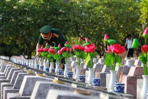 Tuổi trẻ Quảng Bình tri ân các anh hùng liệt sĩ