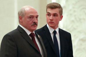 Quý tử tổng thống Belarus cao ráo ở tuổi 15