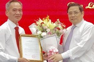 Đồng chí Lữ Văn Hùng được điều động giữ chức vụ Bí thư Tỉnh ủy Bạc Liêu