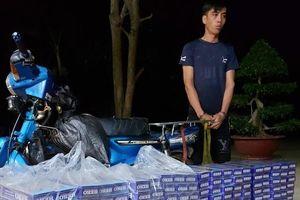 BĐBP Bình Phước liên tiếp bắt giữ các vụ buôn lậu thuốc lá