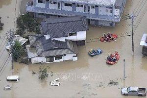 Mưa lớn tiếp tục đe dọa vùng Kyushu, Nhật Bản