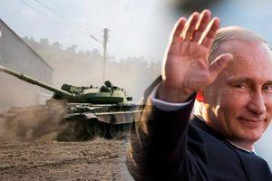 Xe tăng T-62 bí ẩn xuất hiện tại Libya