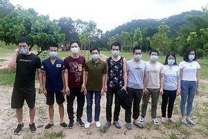 Phát hiện, đưa đi cách ly 9 người nhập cảnh trái phép từ Trung Quốc về Quảng Ninh