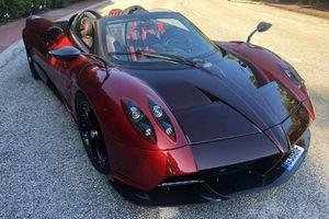 Ngắm 'thần gió' Pagani Huayra Roadster của ông chủ TopCar
