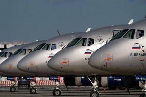 Máy bay Superjet 100 mới sẽ được lắp hệ thống định vị của Nga