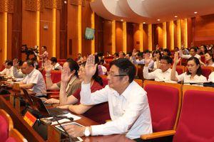 HĐND tỉnh thông qua 22 Nghị quyết quan trọng