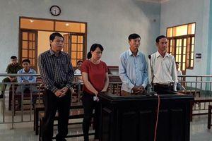 Chánh văn phòng UBND huyện bị xử hình sự 30 triệu đồng