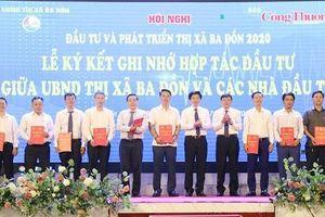 Quảng Bình: Gần 9.000 tỷ đồng đầu tư vào thị xã Ba Đồn