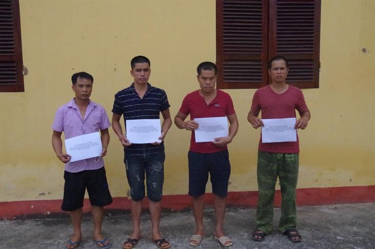 Phá ổ nhóm đưa người Trung Quốc nhập cảnh trái phép