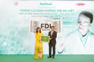 Chiếm 22% thị phần, NutiFood là 'Nhãn hiệu sữa trẻ em số 1 Việt Nam'