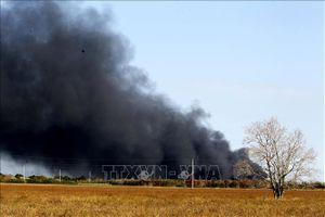Nổ nhà máy xử lý chất thải ở Trung Quốc, nhiều người bị thương