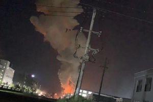 Nổ tại nhà máy xử lý nước thải ở Trung Quốc, 17 người bị thương